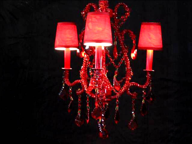 Red crystal chandelier images by lightingimages by lighting red crystal chandelier aloadofball Images