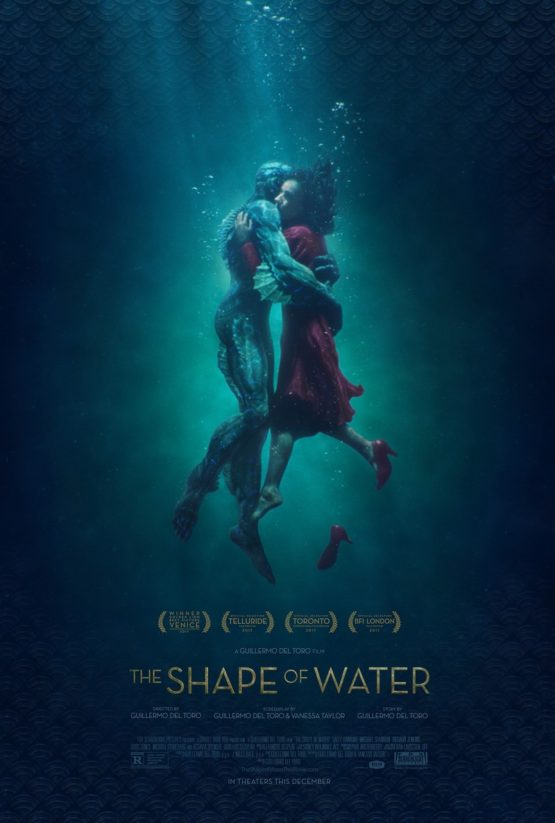 shape of water lighting